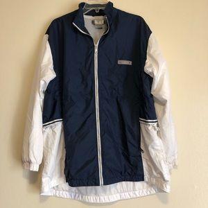 Nike Zip Up Windbreaker Jacket Mens XL Adjustable